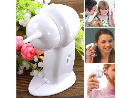 Elektrický přístroj na čištění uší Verk