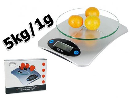 eng pl Electronic Glass Kitchen Scale 5kg 1g Lcd 260 1 3