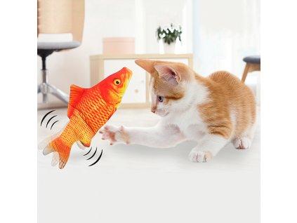 0037466 hracka pro kocky ryba