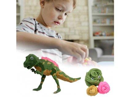 0047829 vymodeluj si dinosaura t rex