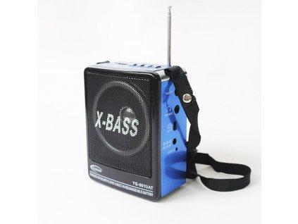 Přenosné bezdrátové rádio X-Bass YG-901UAT FM USB