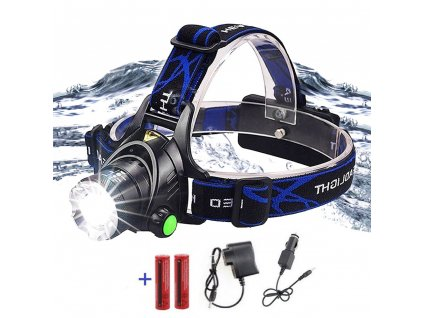 0 Super bright LED Headlamp Fishing lamp Headlight Zoomable 3 lighting modes Used for adventure camping hunting