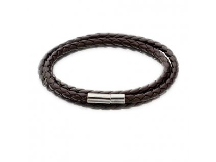 SAATLERI New Men Fashion Leather Bracelets Charm Bangle Handmade Round Rope 11