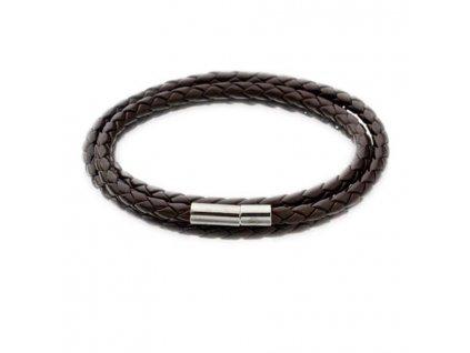 SAATLERI New Men Fashion Leather Bracelets Charm Bangle Handmade Round Rope 11
