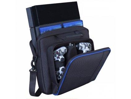 Protective Consol Bag for PS4 Game Sytem Canvas Carry Bags Case Shoulder Bag Handbag for PlayStation 3