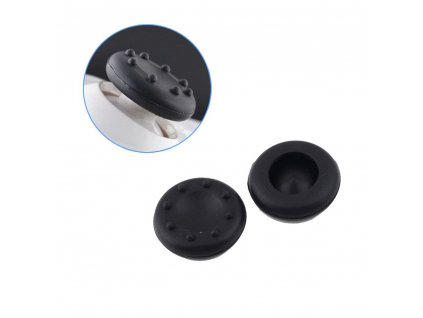 100 pcs Black Analog Controller Joystick Cap Thumb Stick Grip Thumbstick Case Cover for PS4 for 41