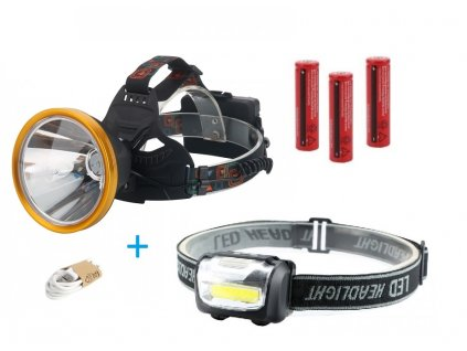 Large T6 500 Lumen USB Chargeable 3 Mode LED Headlight Spotlight for Camping Hunting Black 600x600 (1)