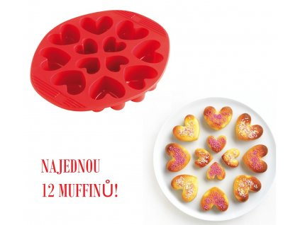 a43110 heart shaped cake pan silicone (1)