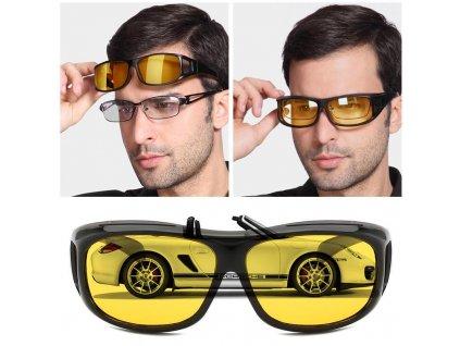 Brýle HD Division pro řidiče pro jasné vidění