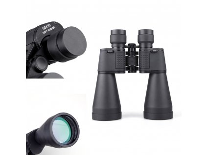 Portable Binoculars 60X90 High Definition Portable Binocular Telescope Military Telescopic Scope Combat BOSMA Binocle For Army 7