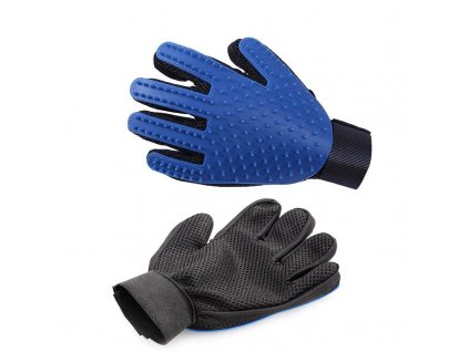 True Touch Five Finger Deshedding Glove 4