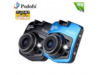 Podofo A1 Car DVR Dashcam Full HD 1080P Video Recorder Registrator Night Vision G Sensor Car 1