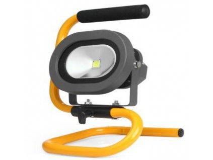 Přenosný LED reflektor 10W dobíjecí + příslušentsví ZDARMA