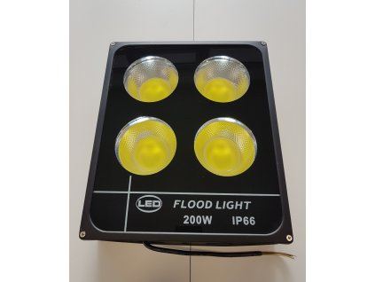 Úsporný LED reflektor na zeď 200W IP 66