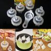 1 7Pcs For elmahjoub jaouhar Eggies Egg Cooking Hard Boil Egg Tools Mold Mould Without Shells With