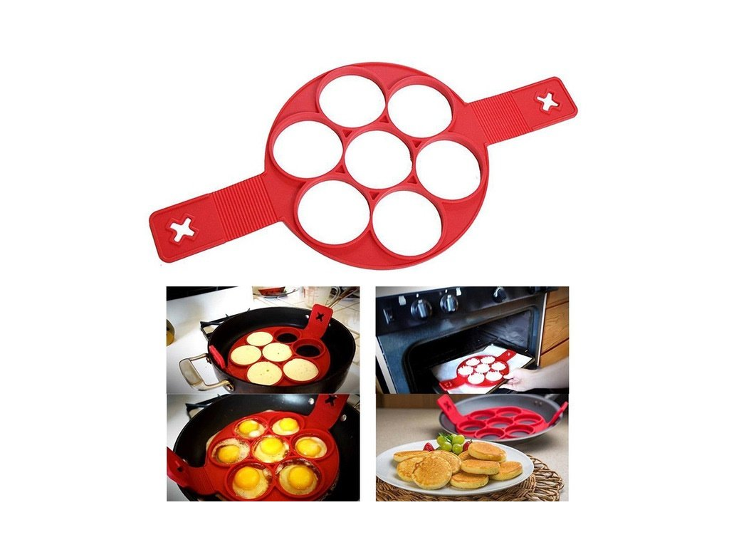 Silicone Pancake Mold Ring New Non Stick Flippin Fantastic Perfect Pancake Maker Flipping Pancakes Fried Eggs.jpg 640x640