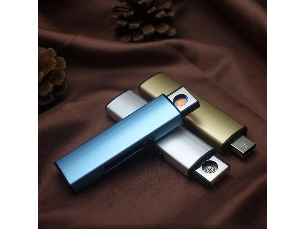 USB Electronic Lighter Rechargeable Cigarette Lighter Windproof Plasma ARC Lighter Encendedor Smoking Gadgets For man No 1