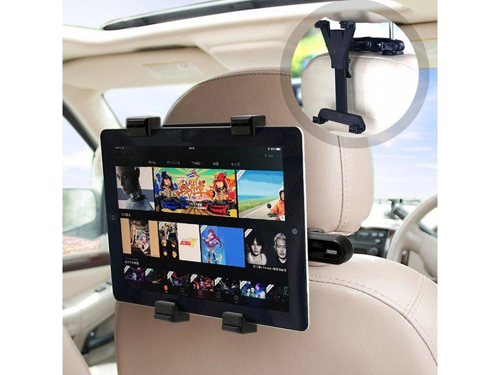 Univerzálny držiak tabletu do auta s nastaviteľným uhlom