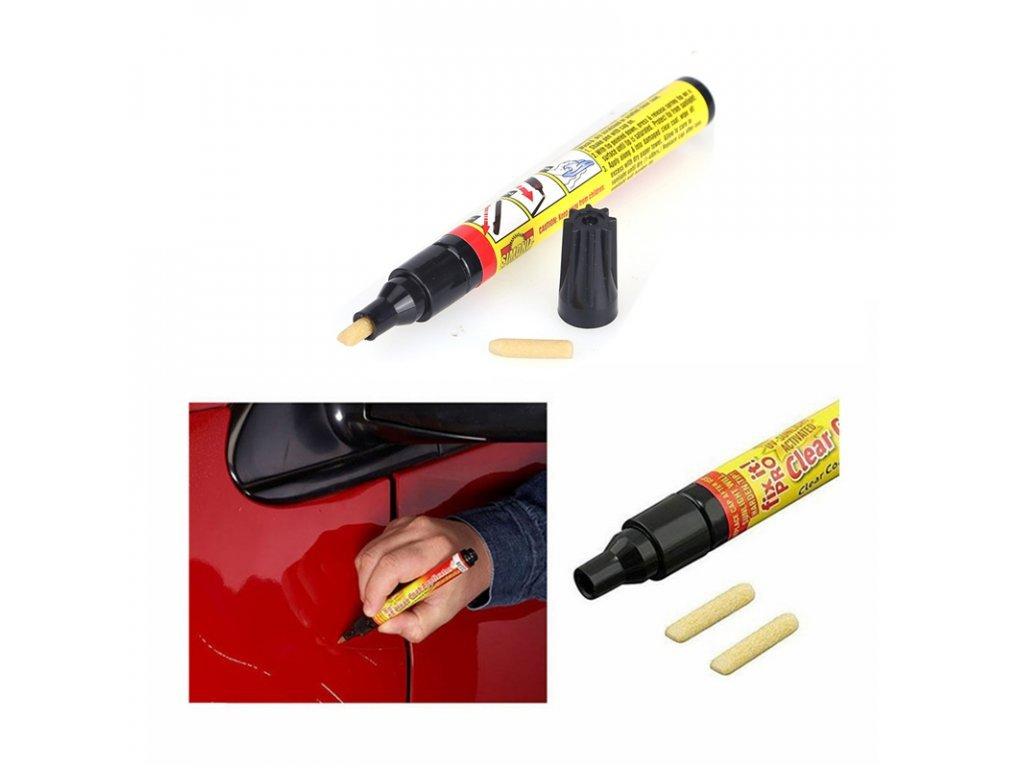 102836 6 0 fix it pro car repair pen scratch remover support all colors new clear coat applicator hand