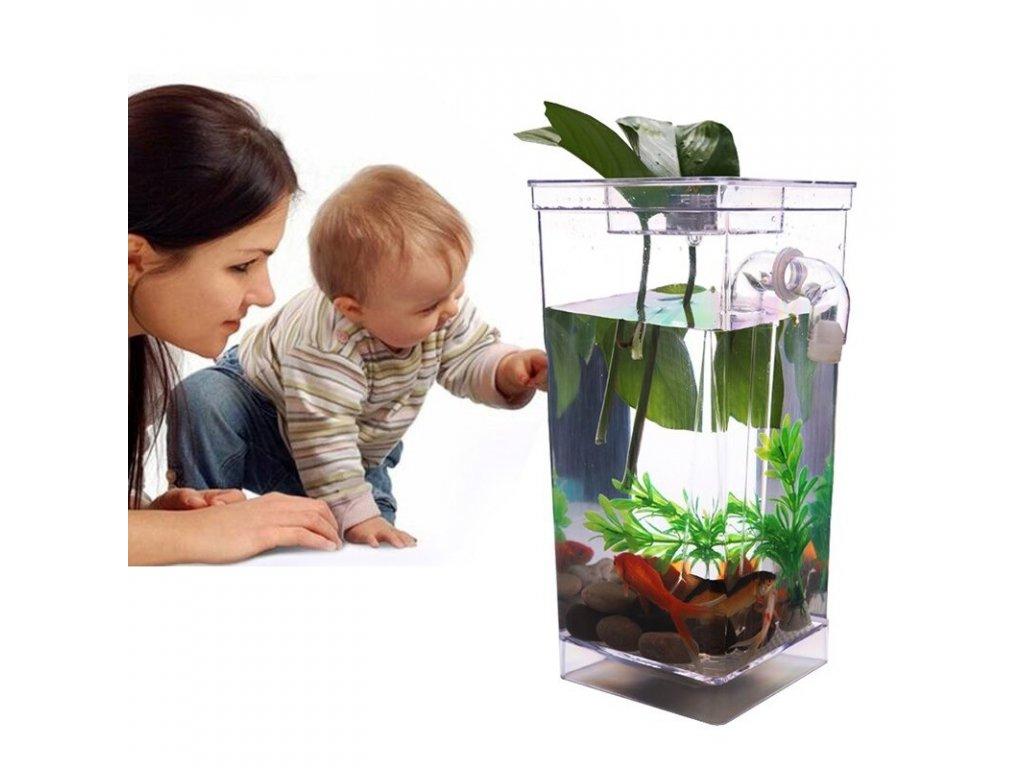 Samočistiaci akvárium My Fun Fish