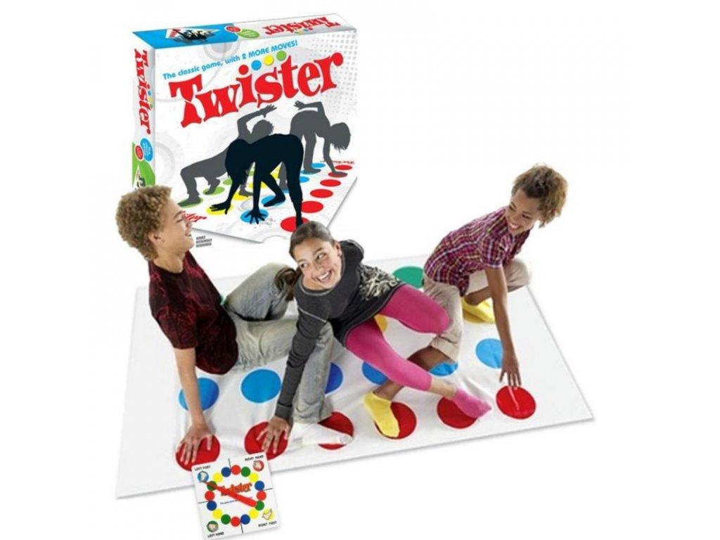 Twister, hra pre celú rodinu