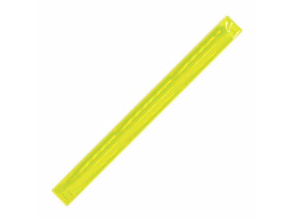 Žltý reflexný pásik