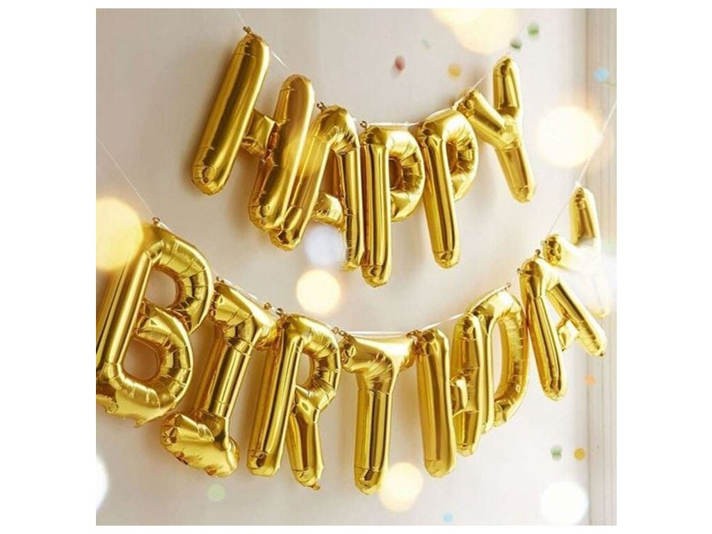 0029103 narozeninove balonky zlate