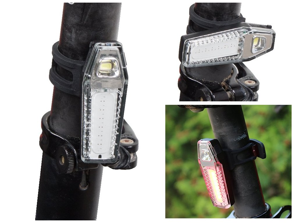 eng pl Bicycle Lamp Front Back 7 LED Functions 1488 3 3
