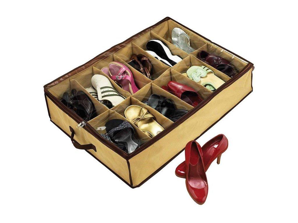 eng pl Box Shoe Organizer 12 Pairs Shoes Cover 1050 1 3