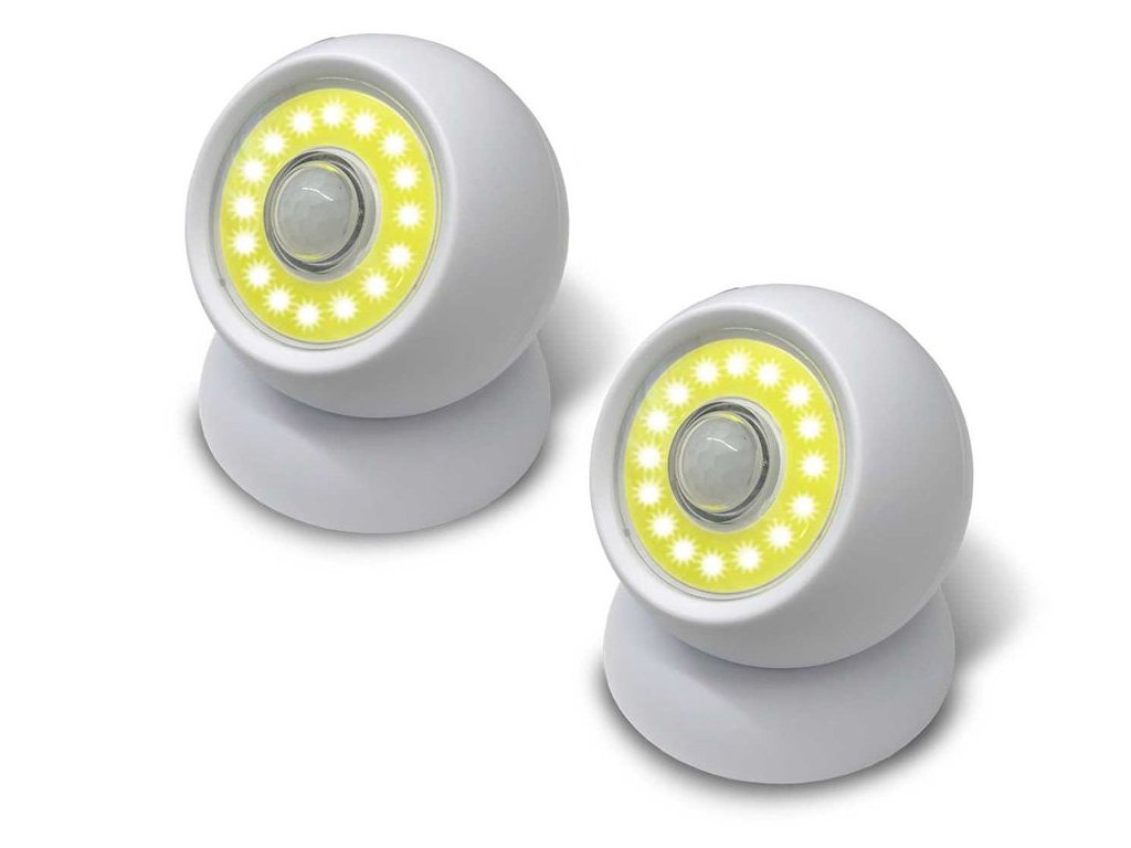 eng pl 2x Lamp Led Cob 360 Lamp Battery Operated Magnet 1862 1 3