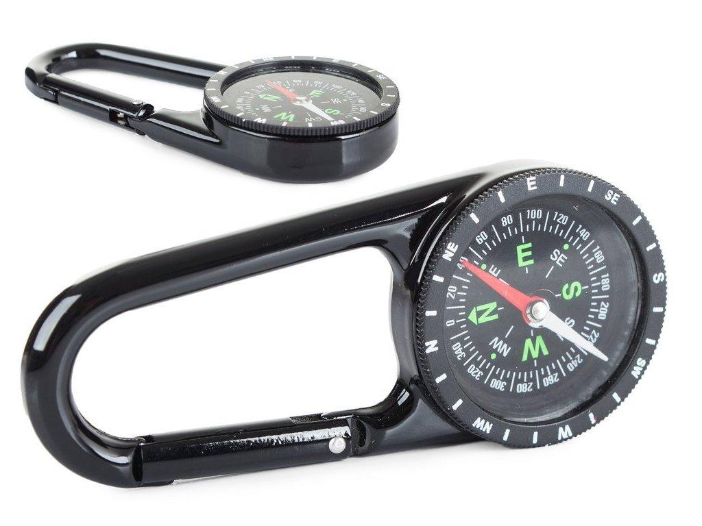 eng pl Metal Compass Compass Tourist Karabiner 696 1 3