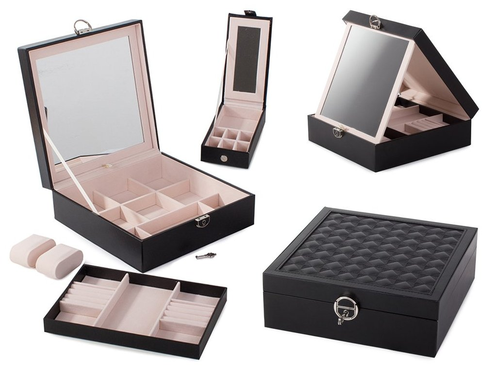 eng pl Jewelery box watches box organizer 2104 1 3