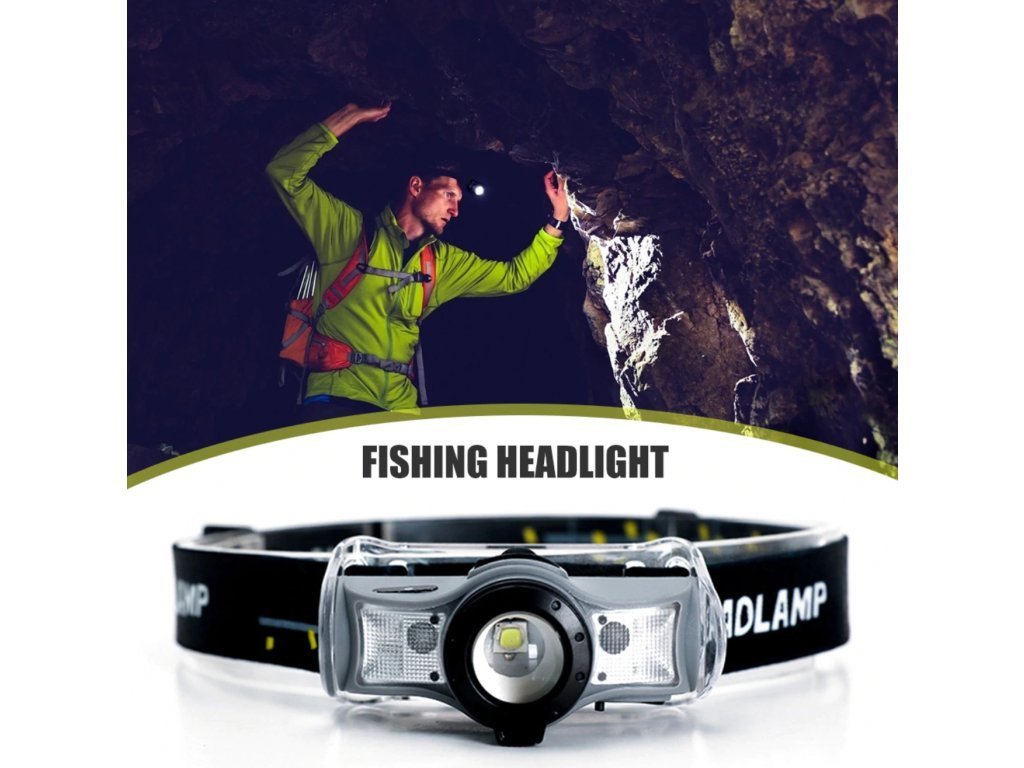111113 5 dobijeci celovka se senzorem pohybu headlight zoom t6 cree led br3036