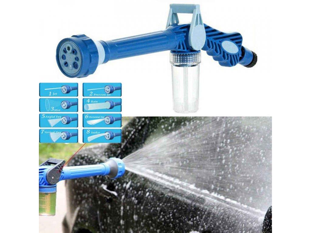 8 Nozzle Ez Jet Water Soap Cannon Dispenser Pump Spray Gun Car Washer US.jpg q50