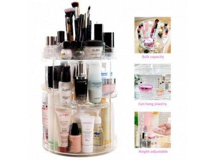 cosmetics storage box rotative rack gw 288 4 500x500