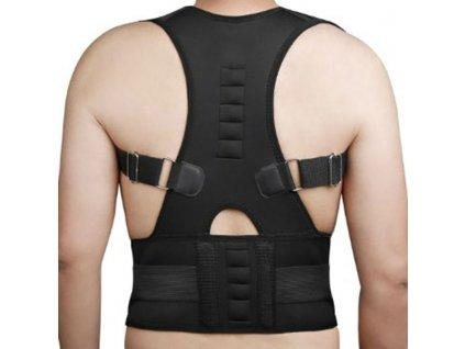 Men s Magnetic Posture Corrector Corset Back Support Brace Lumbar Support Straight Back Belt Posture Corrector 0