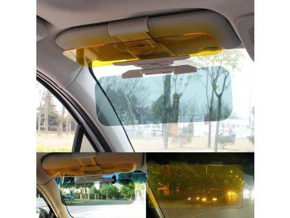 Nastaviteľná clona do auta proti slnku a na noc 2v1