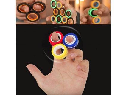 Antistresové magnetické krúžky - 3ks