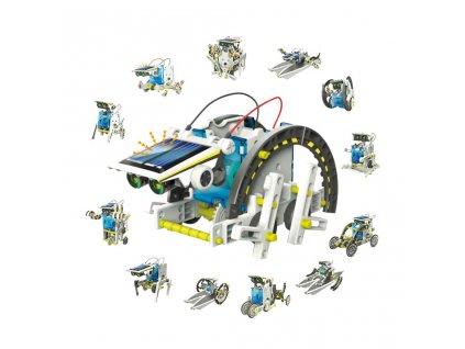 Solárna stavebnica Robot, 13 rôznych prestavieb