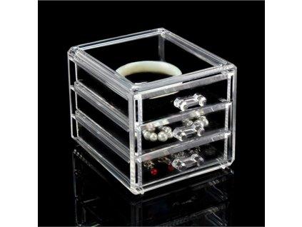 ew acrylic makeup organizer 3 drawers c main 1
