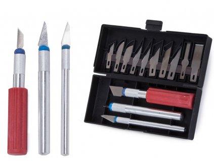 eng pl Knife model knife scalpel 13 blades case set 2193 1 3