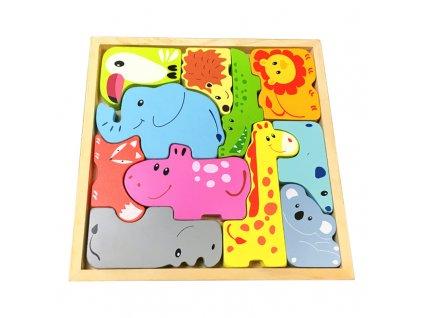 0036835 drevene puzzle zviratka
