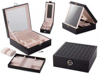 eng pl Jewelery box watches box organizer 2104 1 3