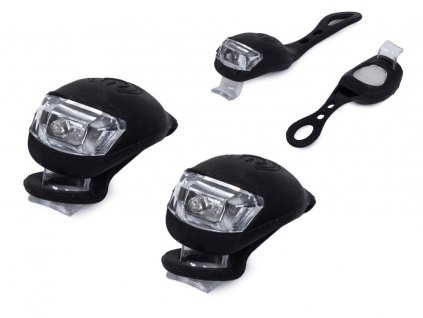 eng pl Bicycle lighting 2 LED lamps front bicycle 2 pcs 2226 1 3