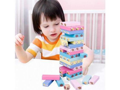 0039929 detska hra drevena vez