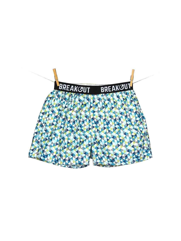 panske trenyrky geo turquoise breakout clothing