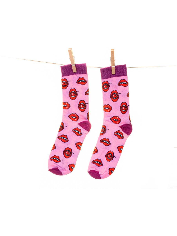 ponozky lips pusy valentyn