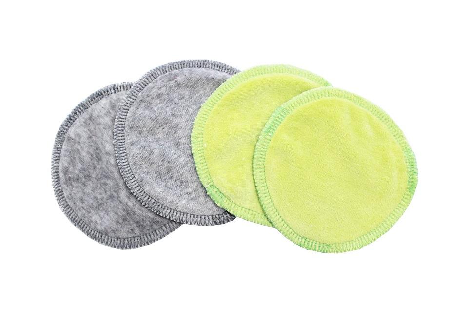 Prsní vložky - PUL, dotyk: kojenecký plyš (Velour)