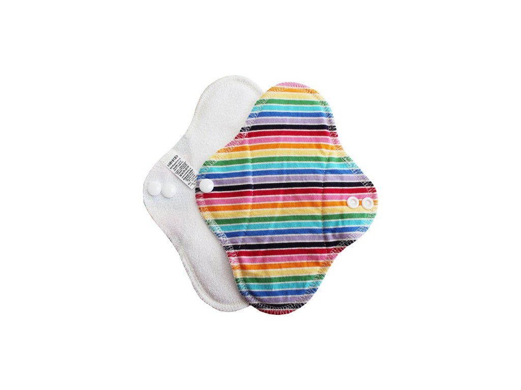 Slipovka Bílám barevné proužky