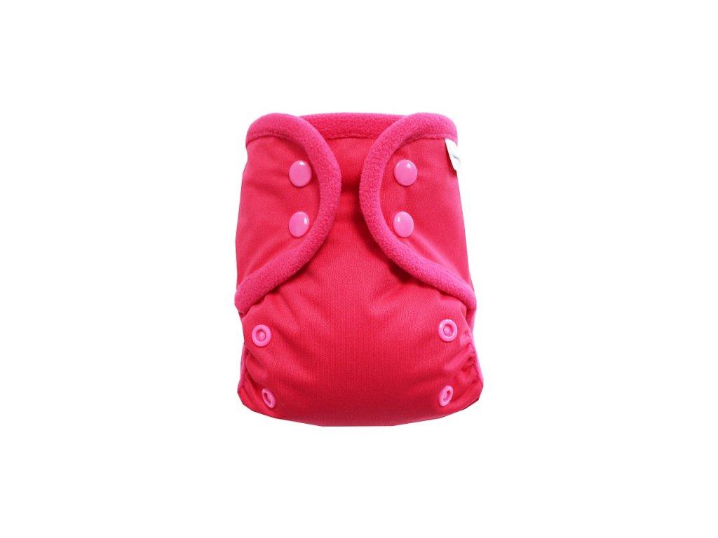 Růžové S PAT, růžový fleece